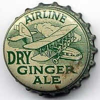 Airline Dry Ginger Ale, bottle cap | London, Ontario, Canada
