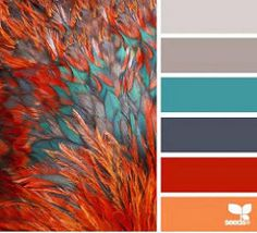 feathered hues color palette from Design Seeds