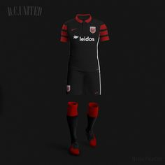 Nike MLS Concept Kits by Nerea Palacios | DC United