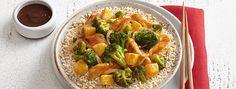 Chicken Broccoli and Pineapple Stir Fry