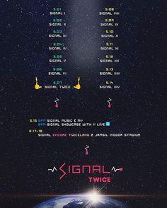 [TIMETABLE] TWICESIGNAL 4TH MINI ALBUM  #twice #jyp #jypentertainment #chaeyoung #jihyo #mina #sana #momo #tzuyu #dahyun #nayoung #jeongyoung #girlgroup #cheerup #tt #kpop #korea #album #signal
