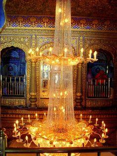 Harmandir Sahib Temple (Golden Temple) inside, Amritsar, Punjab, India