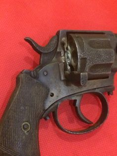Belgischer Bulldog Revolver  Produktion 1871 6 Schuss  Belgischer Beschuss