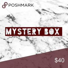 MYSTERY BOX All mystery boxes will come with 5-7 gently used pieces of clothing or shoes. My sizes will consist of x-small, small, bottoms size 25, and shoes 5.5 or 6! You may comment and let me know what you really want/need & I can try to accommodate each box accordingly! Tops