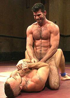 fat guys wrestling nude