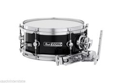 Pearl Snare Drum SFS10C31 10 x 4.5 Short Fuse w/ Mount & Clamp Black