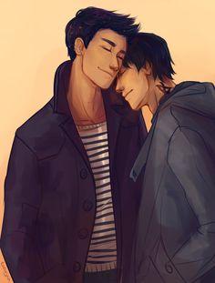 Magnus Bane and Alec Lightwood