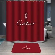 How to Choose a Shower Curtain for the Bathroom Bathroom Red, Bathroom Wall, Red Bathrooms, Bathroom Ideas, Clogged Toilet, Best Resolution, Rustic Bathrooms, Custom Shower Curtains, Shop Window Displays