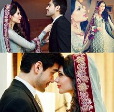Nice Great Pakistani Bridal Wear ♥ S&M J ♥ us :') inshAllah! Bridal Poses, Bridal Photoshoot, Wedding Poses, Wedding Attire, Wedding Couples, Pakistani Wedding Outfits, Pakistani Bridal Wear, Indian Bridal, Desi Wedding