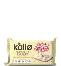 Fruity Muesli & Yoghurt Breakfast Thins /  Kallo
