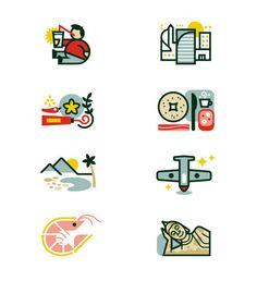 Monocle Illustrations / Icons - Matt Lehman Studio