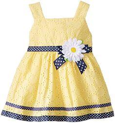 Youngland Baby-Girls Infant Daisy Eyelet Crinoline Dress, Yellow, 18 Months Youngland http://www.amazon.com/dp/B00OV1F1YY/ref=cm_sw_r_pi_dp_hs6Xub0QYGK9J