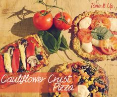 Healthy-tone-it-up-cauliflower-crust-pizza- They have a great Vegan cauliflower crust recipe included in this post1