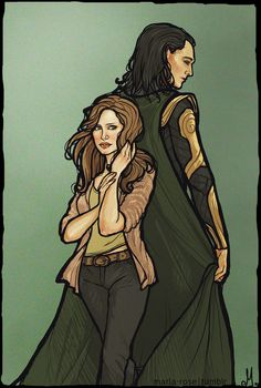 Jane and Loki. Confession: I really like the idea of this pairing. There, I said it!