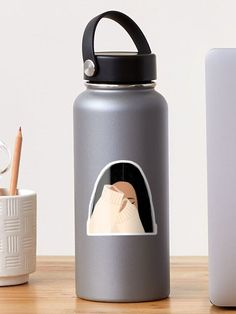 """""""Hiding"""" Sticker by Loucreations 
