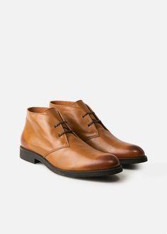 Mango H.E. desert  boots
