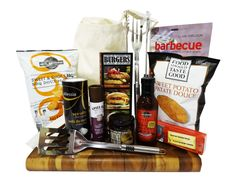 Perfect Day to BBQ - Hostess Gift. Call 905 326 2000 for details Sweet Potato Bbq, Happy Birthday Canada, Barbecue Burgers, Food Should Taste Good, Hostess Gifts, Summer Time, Spices, Sweet Potato, Salt