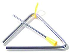 5 Inch Triangle by FIRST NOTE. $3.10. Features: This 5 inch triangle comes standard with handle and beater. Model: DU3505 Manufacturer: FIRST NOTE
