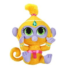 Now you can take the adorable Shimmer and Shine genies and friends along with you! These soft plush toys measure 6 inch - 7 inch tall.<br><br>The Fisher-Price 7 inch Shimmer and Shine Mini Plush - Tala Features:<br><ul><li>Beloved characters from the hit Nickelodeon show Shimmer and Shine!</li><br><li>Soft and Cuddly Plush</li></ul><br><br>As the most trusted name in quality toys, Fisher-Price has been helping to make childhood special for generations of kids. Since 1930, they've been in…