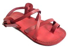 Beautiful Handmade SANDALS for Men Women GENUINE LEATHER - TEL AVIV Style by SANDALIM - GET YOURS NOW !!! ** Check out this great product. (This is an Amazon affiliate link)