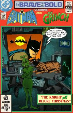 Super-Team Family: The Lost Issues!: Batman and The Grinch