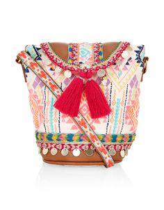 Mini Diamond Pukshar Across Body Bag