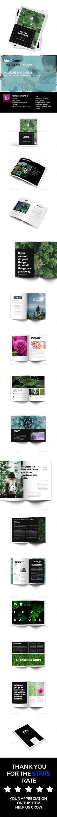 Nature - Multipurpose Magazine Brochure