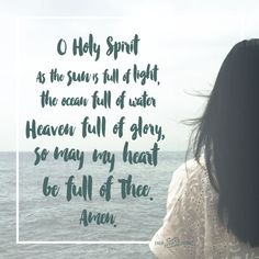 He is the One who guides, speaks, corrects, teaches, comforts, counsels, and reminds me of everything Jesus said.  Which means I must read and take in the words of Jesus, indeed the entire Bible, if I want to hear the Holy Spirit speak.