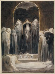 William Blake The Entombment