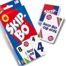 SKIPBO - A game Shirley, my pretty-much Grandma, loved! I kept the set she gave me.. I always will. Just as I will always love her. I miss you.. Tell God I said hi:)