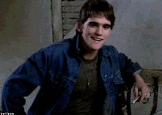 Read The fight--Ponyboy/Dallas (Requested by from the story The Outsiders: Imagines And Stuff by Pony_babe (The Outsiders) with read. The Outsiders Imagines, The Outsiders 1983, The Outsiders Fanfiction, 80s Movies, Good Movies, Die Outsider, Young Matt Dillon, Dallas Winston, Lets Do It