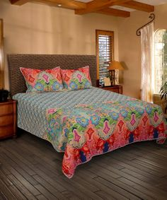 Blue & Red Quilt | Daily deals for moms, babies and kids