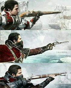 Assassin's Creed Rogue Assassins Creed Rogue, Cry Of Fear, Borderlands Art, Dark Phoenix, Assassin's Creed, Faith In Humanity, Manga Games, Fantasy World, Rogues