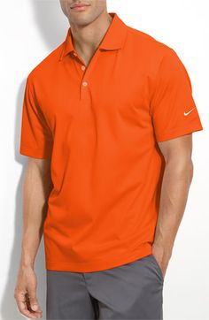 Gold Nike Golf UV Protection Polo by Nordstrom Golf Training Aids, Nike Gold, Fitness Brand, Play Golf, Mens Golf, Golf Outfit, Golf Tips, Nordstrom, Lose Weight