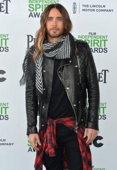 Jared Leto at Film Independent Spirit Award, Santa Monica.- 01-03-2014