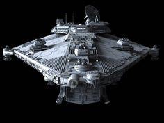 Imperial Star Corvette, Vigil-class http://fractalsponge.net/gallery/index.html