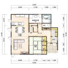 Floor Layout, Japanese House, Architecture Plan, House Layouts, House Floor Plans, Flooring, How To Plan, Interior Design, Luxury