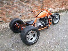 Nice Trike -  found on Google Mini Motorbike, Trike Motorcycle, Moto Bike, Motorized Big Wheel, Drift Trike Motorized, Custom Trikes, Custom Motorcycles, Three Wheel Motorcycles, Vw Trike