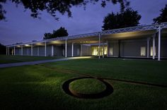 Menil Collection by Renzo Piano