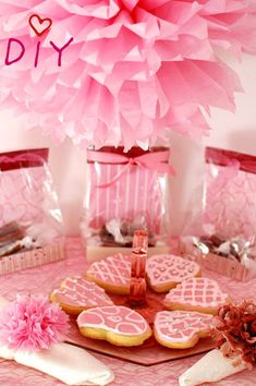 Cute valentines favors