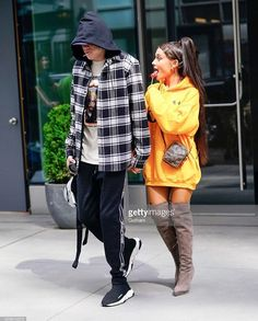 Ariana and Pete in New York