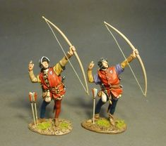 -- The Retinue of John Howard, Duke of Norfolk, Yorkist Archers (War of the Roses). John Howard, Gulf Breeze, Wars Of The Roses, Age Of Empires, King Richard, King And Country, Toy Soldiers, Roman Empire, Archer