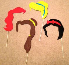 Disney Princess Photo Booth Props {FREEBIE!}