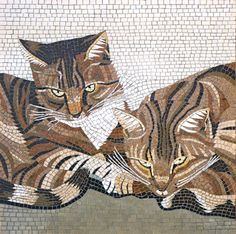 Mosaic - Robert Field 'Bugsy and Clyde