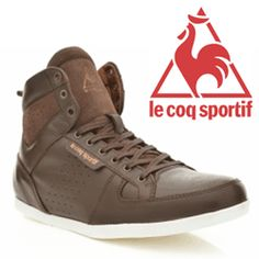 Ghete din piele pentru barbati Le Coq Sportif Bizot Hi Lea