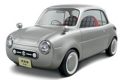 Suzuki retro micro car LC - 1