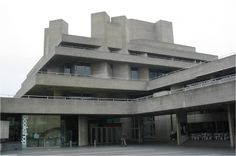 Royal National Theatre  #architecture #brutalism Pinned by www.modlar.com