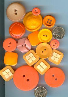 Orange button love