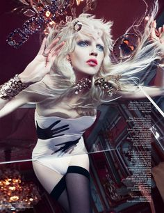 ru_glamour: Ola Rudnicka by Boe Marion for Vogue Netherlands March 2014