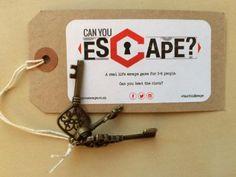 'Can you escape?' Escape Room